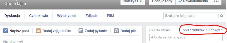 facebook grupa tajna
